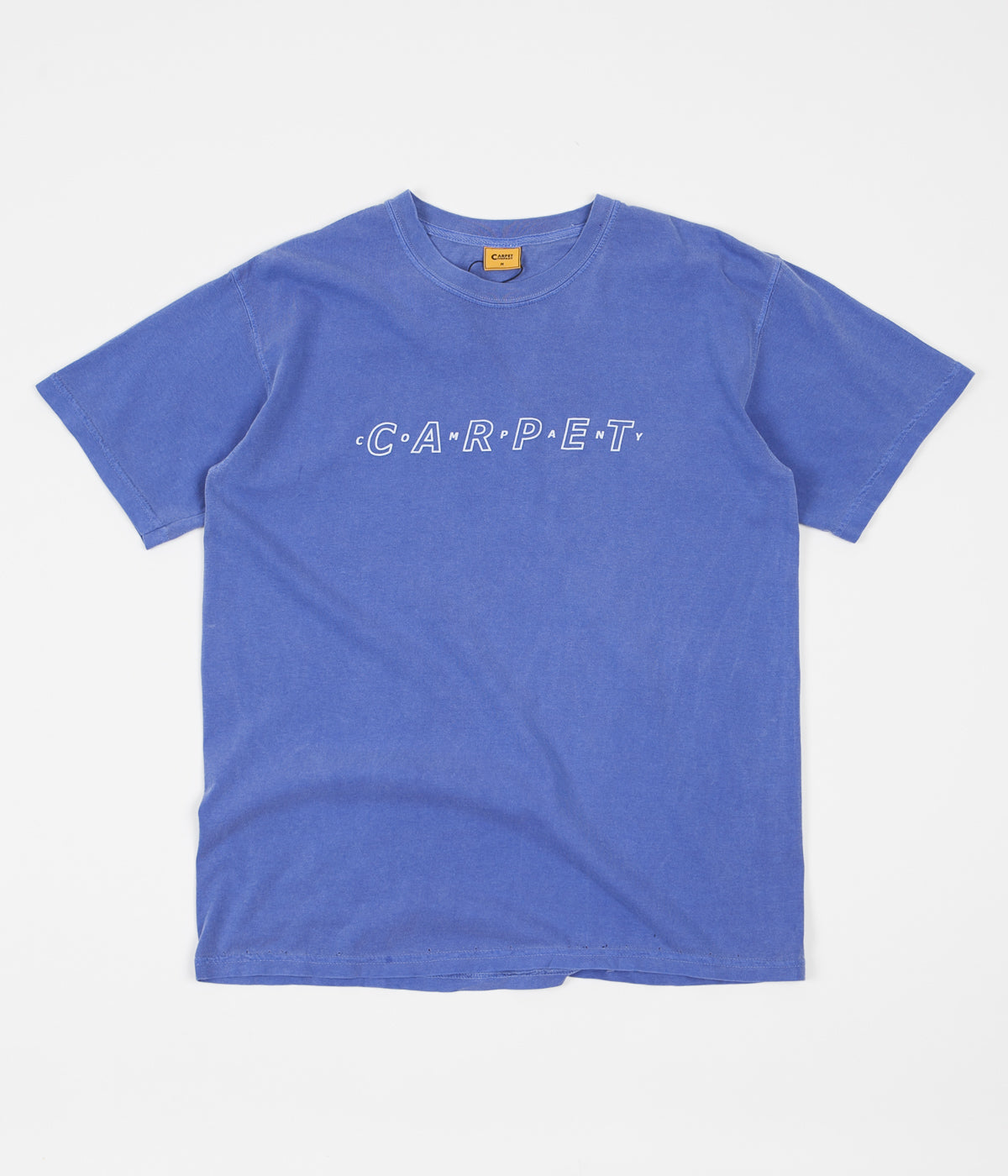 Carpet Co. Pigment Dyed Puff Ink T-Shirt - Mystic