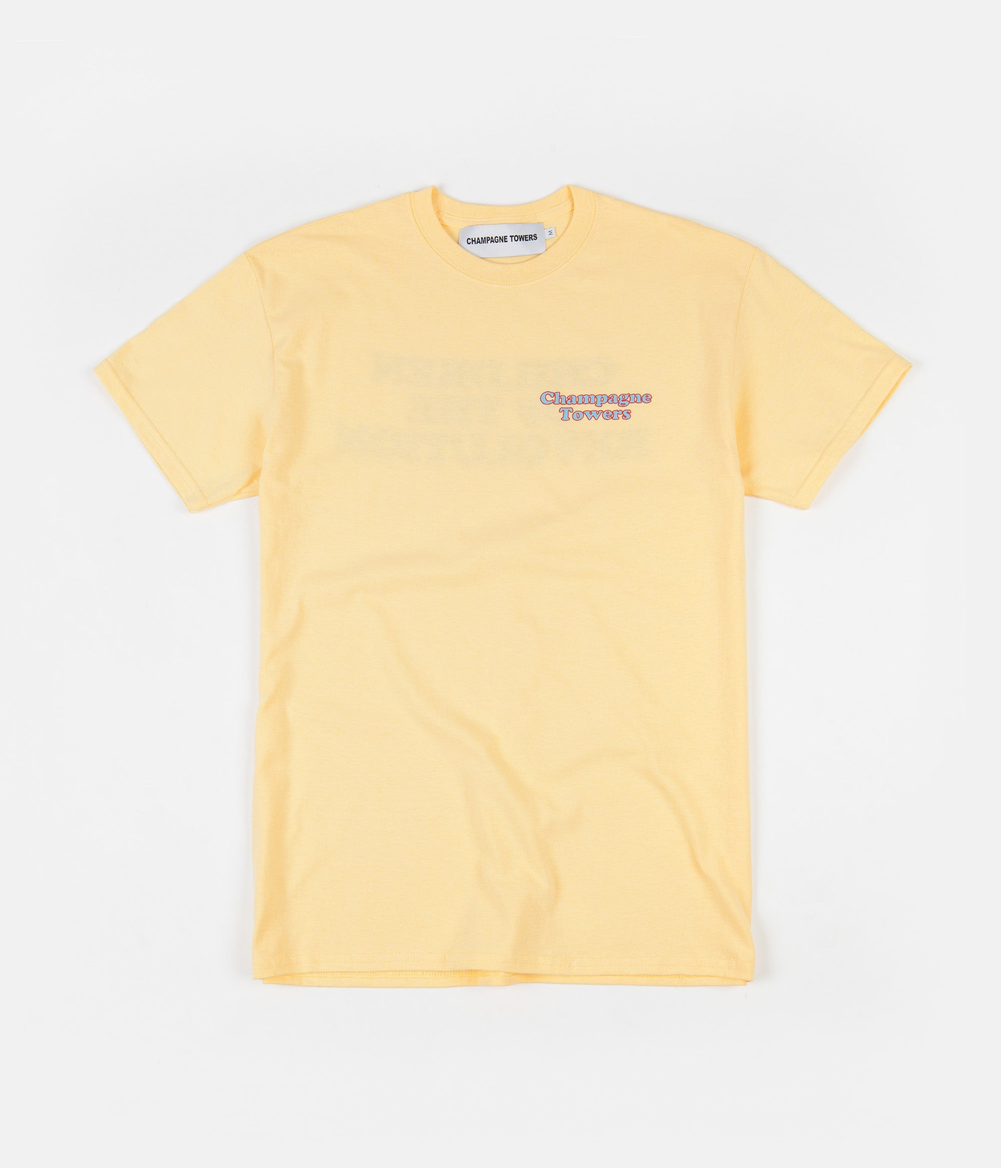 Champagne Towers Children Of The Revolution T-Shirt - Yellow Haze