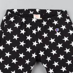 Champion All Over Print Track Shorts - Black