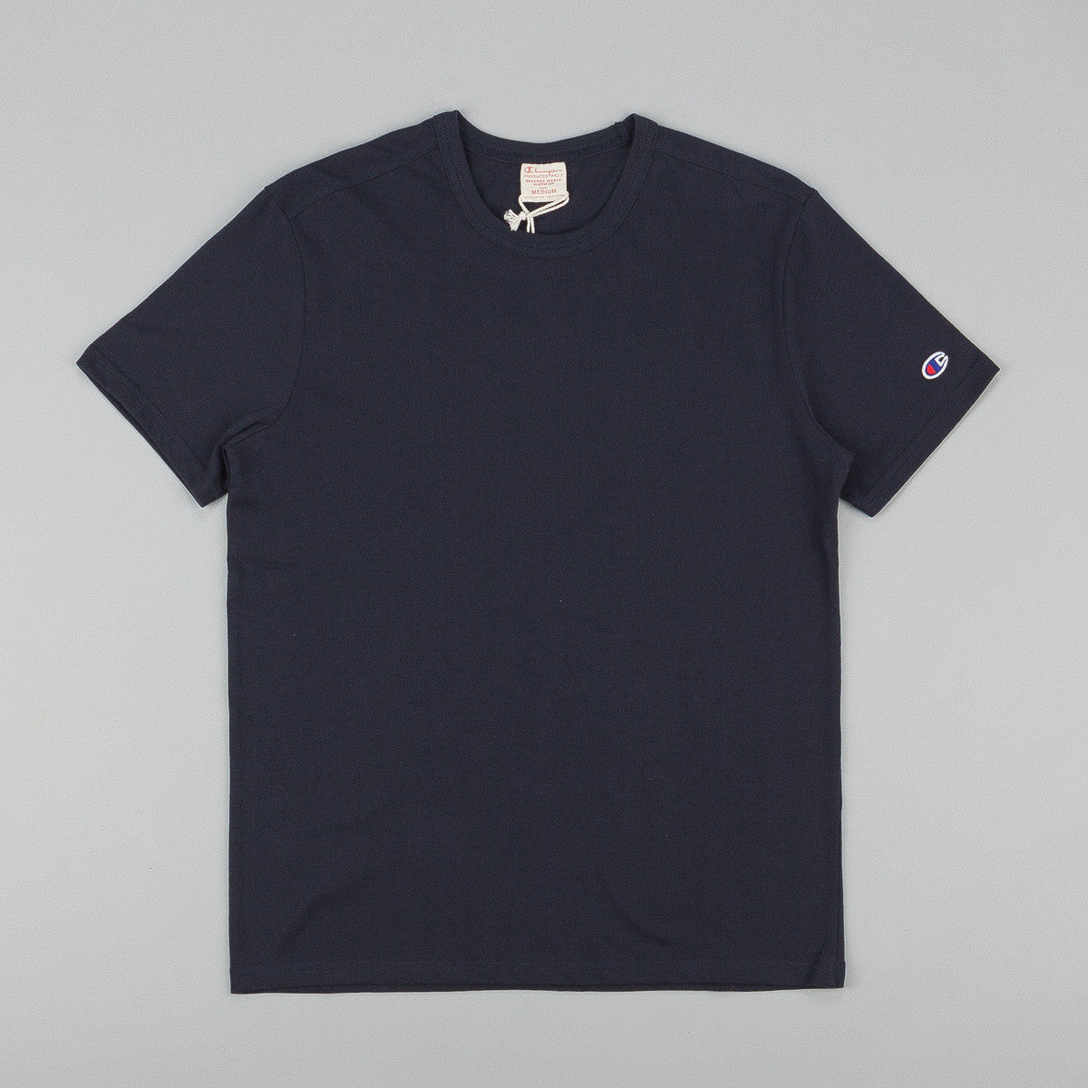 Champion Basic Reverse Weave T-Shirt - Navy