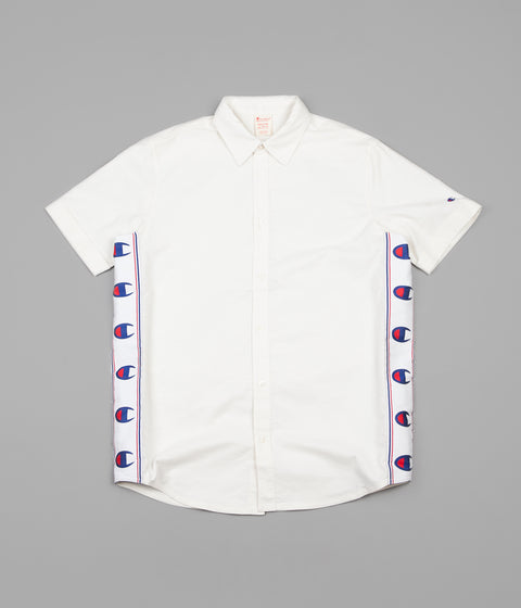 Champion C Tape Short Sleeve Shirt - Cream