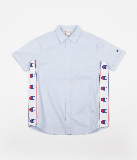 Champion C Tape Short Sleeve Shirt - Light Blue