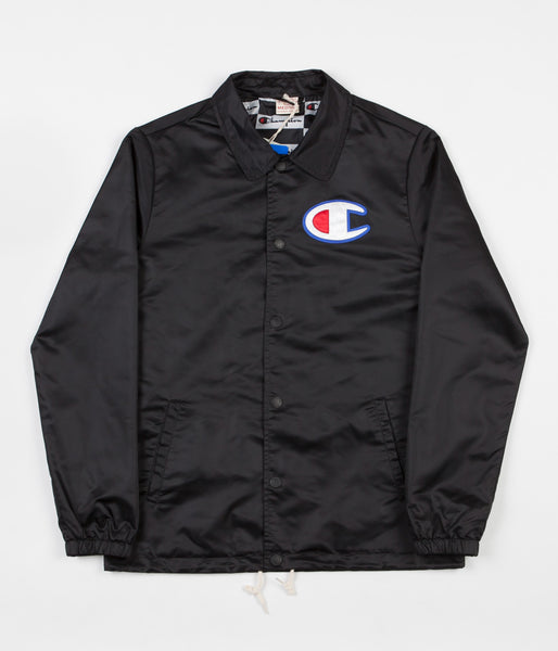 Champion Coach Jacket - Black