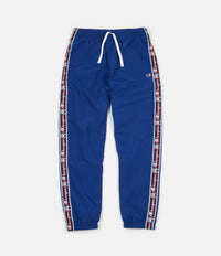 Champion Logo Tape Sweatpants - Blue