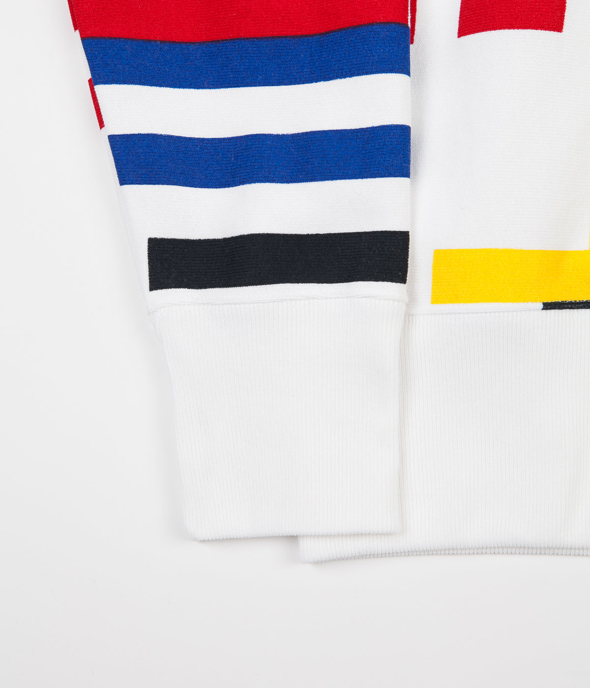 Champion Multi Stripe Hoodie - White / Multi
