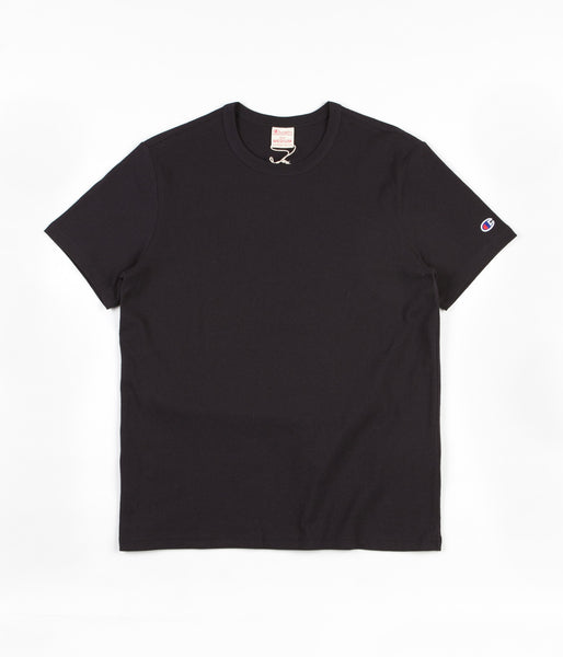Champion Reverse Weave Basic T-Shirt - Black