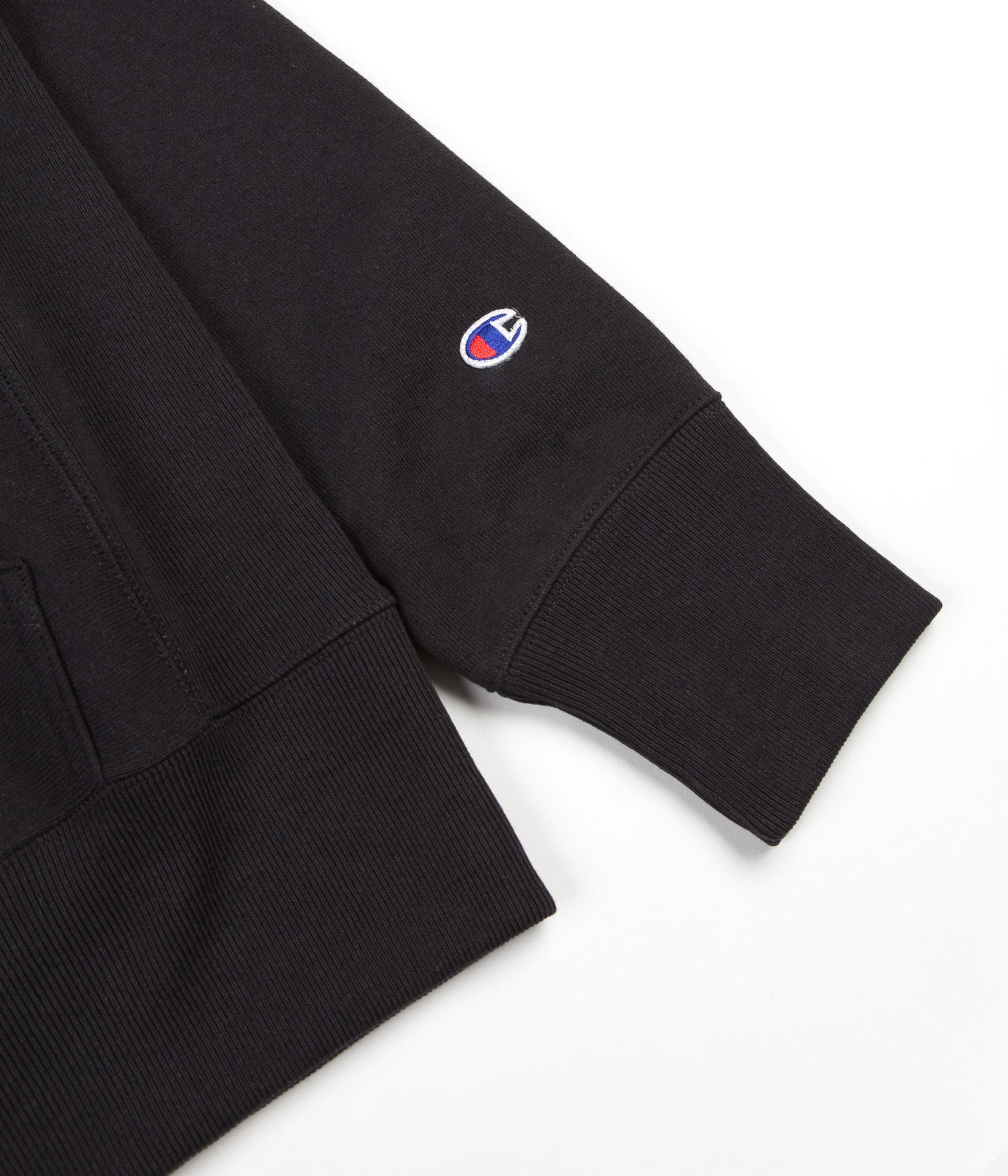 Champion Reverse Weave Classic Hooded Sweatshirt - Black