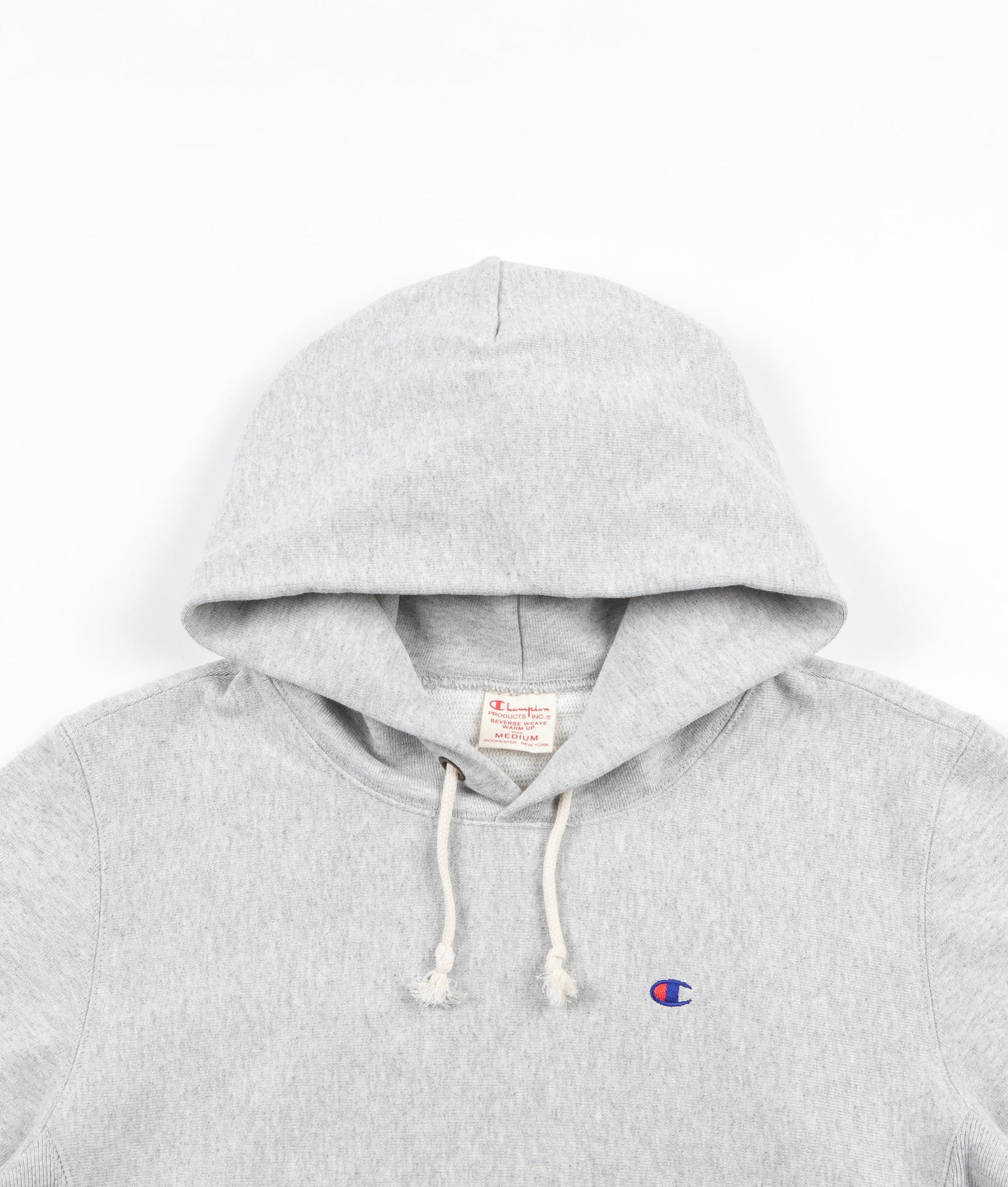 Champion Reverse Weave Classic Hooded Sweatshirt - Grey