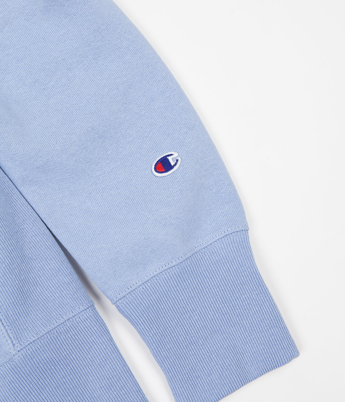 Champion Reverse Weave Classic Crewneck Sweatshirt - Light Blue