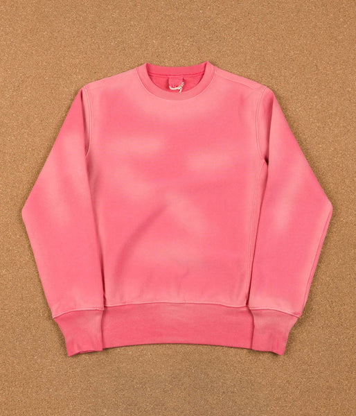Champion Reverse Weave Enzyme Washed Crewneck Sweatshirt - Coral Pink