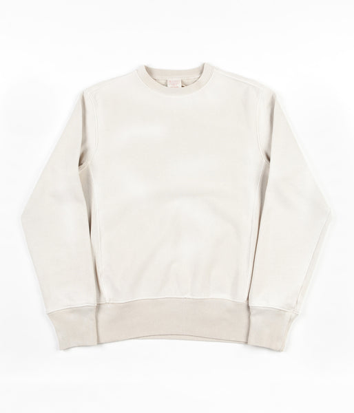 Champion Reverse Weave Enzyme Washed Crewneck Sweatshirt - Cream