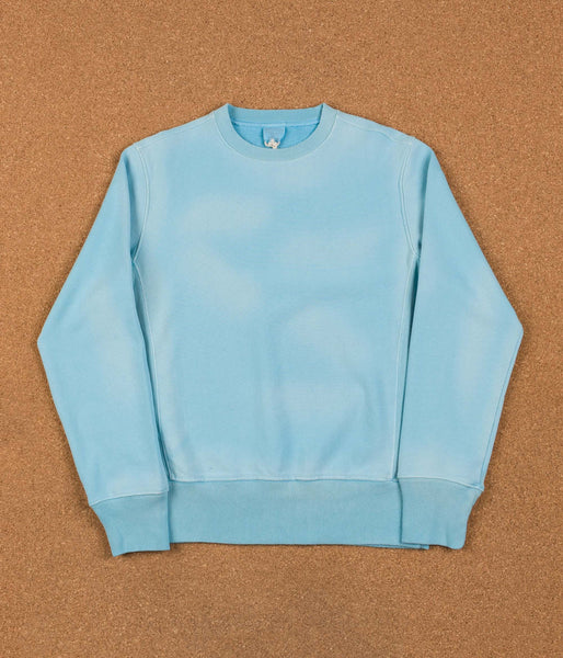 Champion Reverse Weave Enzyme Washed Crewneck Sweatshirt - Powder Blue