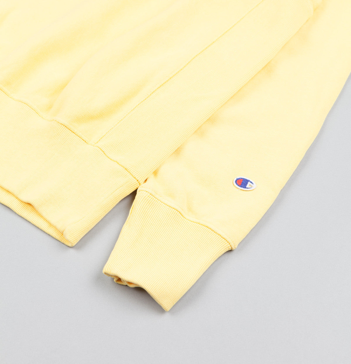 Champion Classic Reverse Weave Crewneck Sweatshirt - Yellow