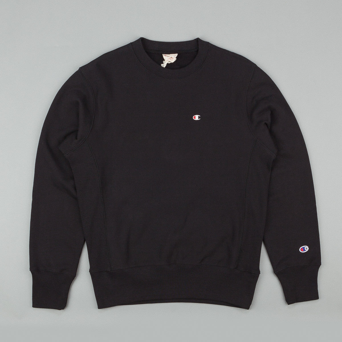 Champion Small C Reverse Weave Crew Neck Sweatshirt