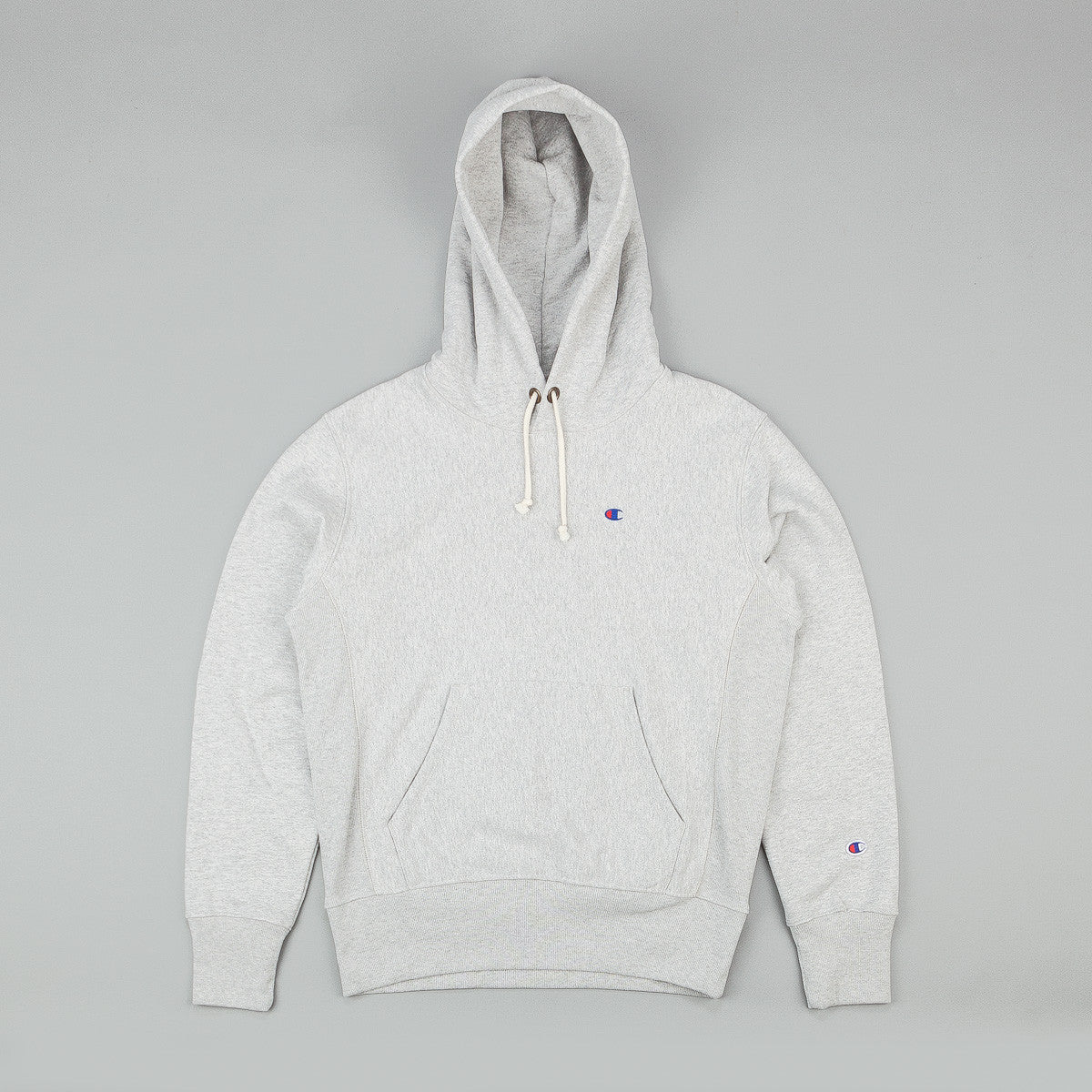 Champion Small C Reverse Weave Hooded Sweatshirt