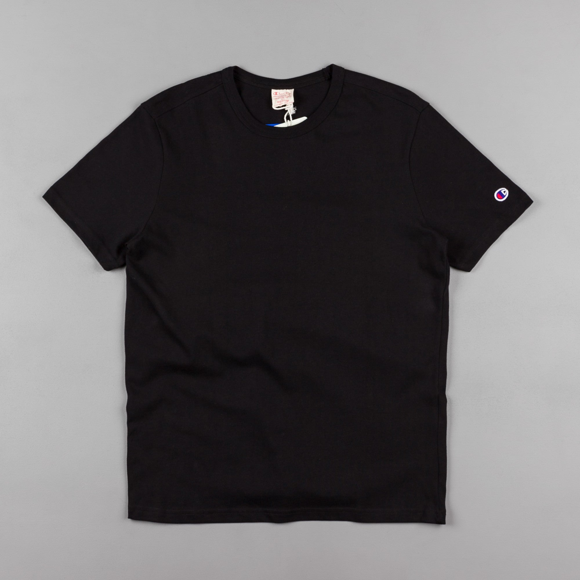 Champion Basic Reverse Weave T-Shirt - Black