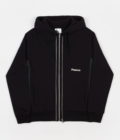 Champion x Wood Wood Isaac Full Zip Sweatshirt - Black