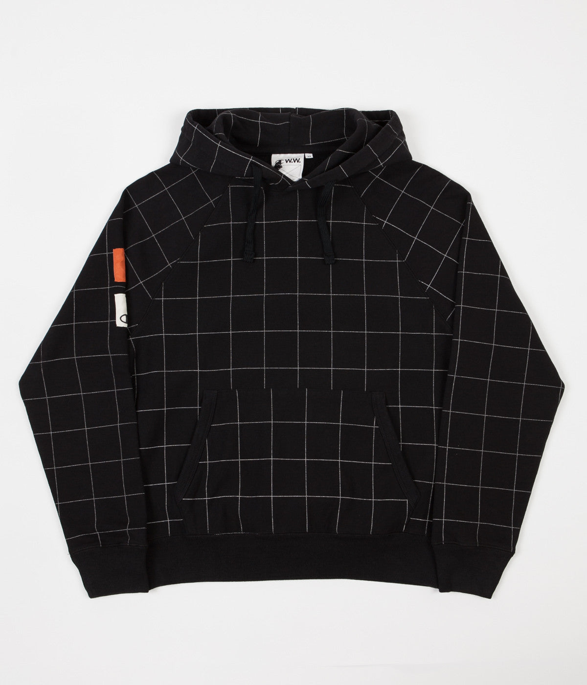 Champion x Wood Wood Judd Hoodie - Black Check