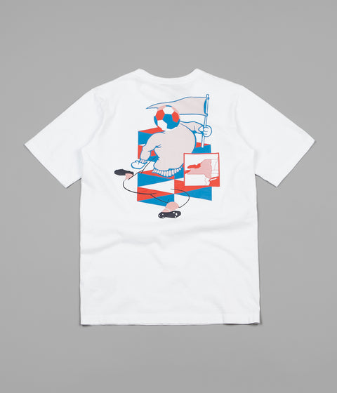Champion x Wood Wood Rick T-Shirt - White