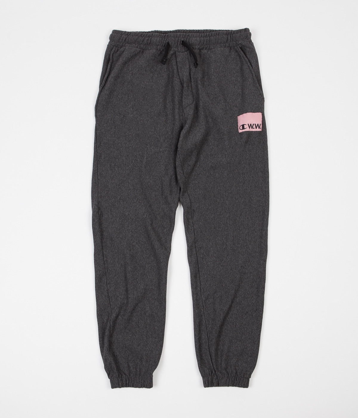 Champion x Wood Wood Kurt Sweatpants - Melange Grey