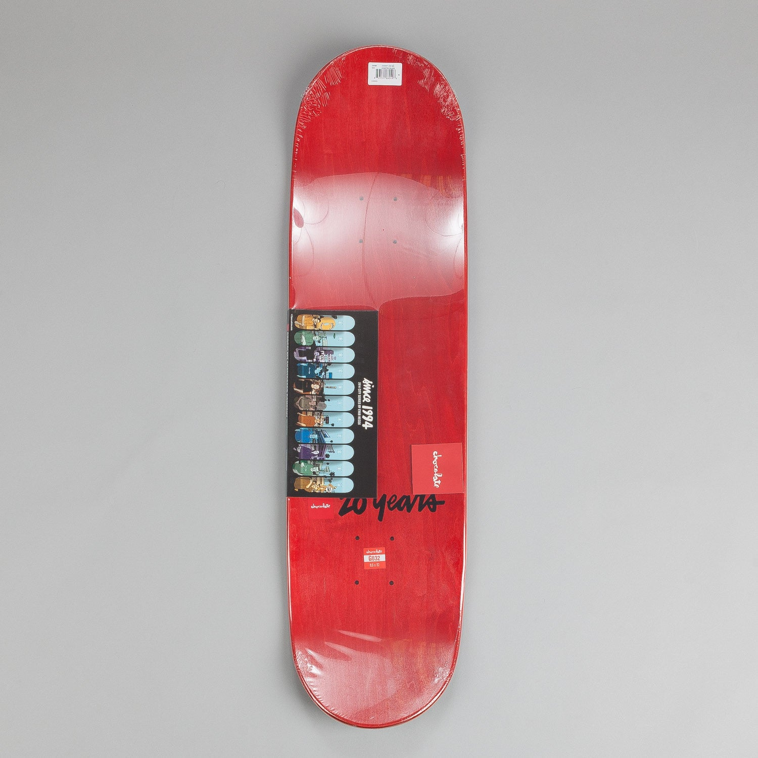 Chocolate City Series Deck Gino Ianucci 8.5""