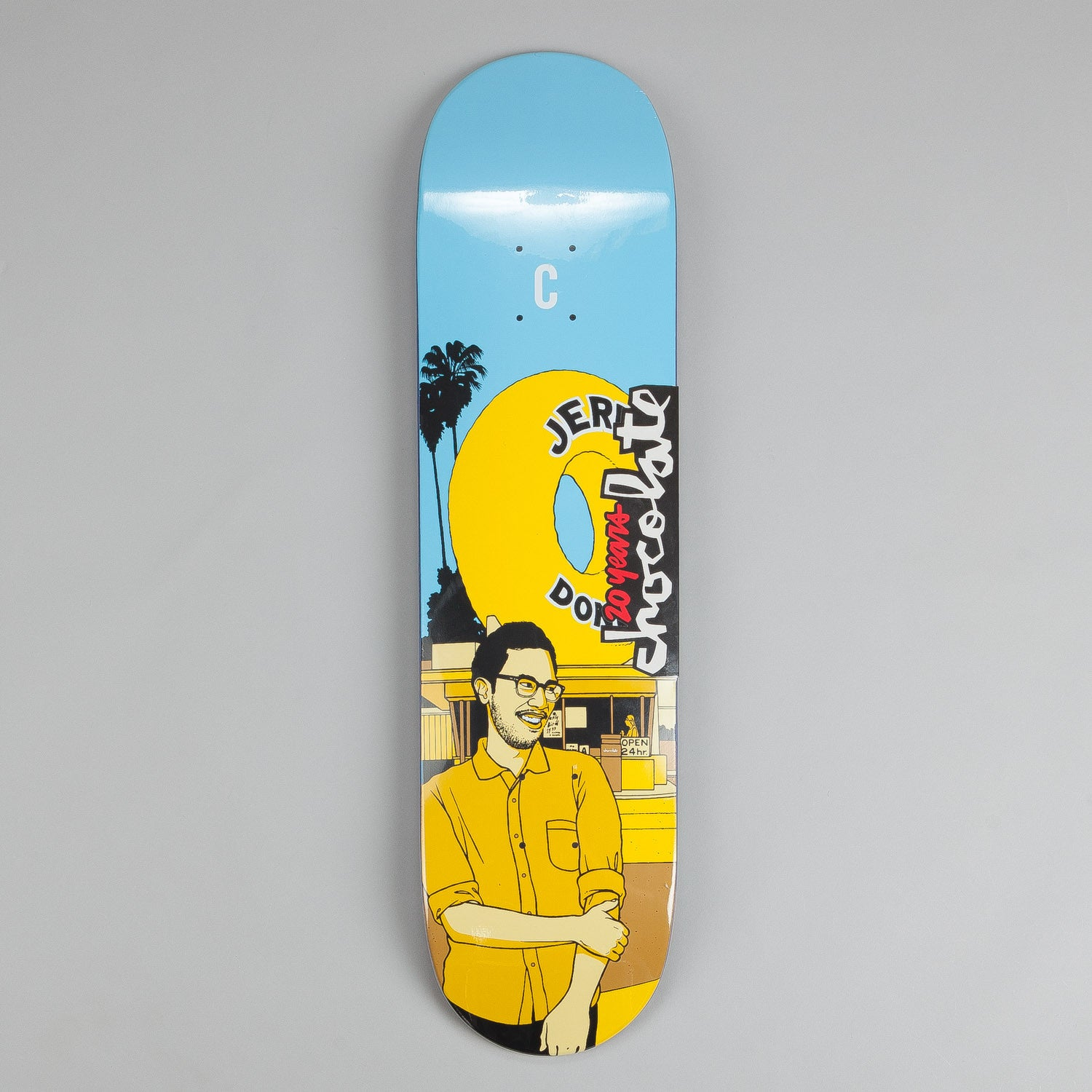 Chocolate City Series Deck Jerry Hsu 8""