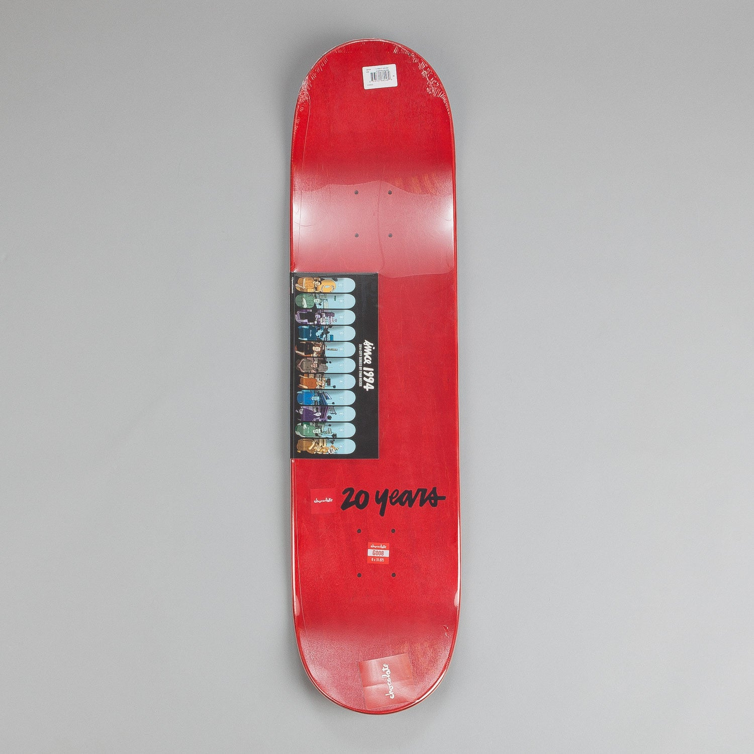 Chocolate City Series Deck Justin Eldridge 8""