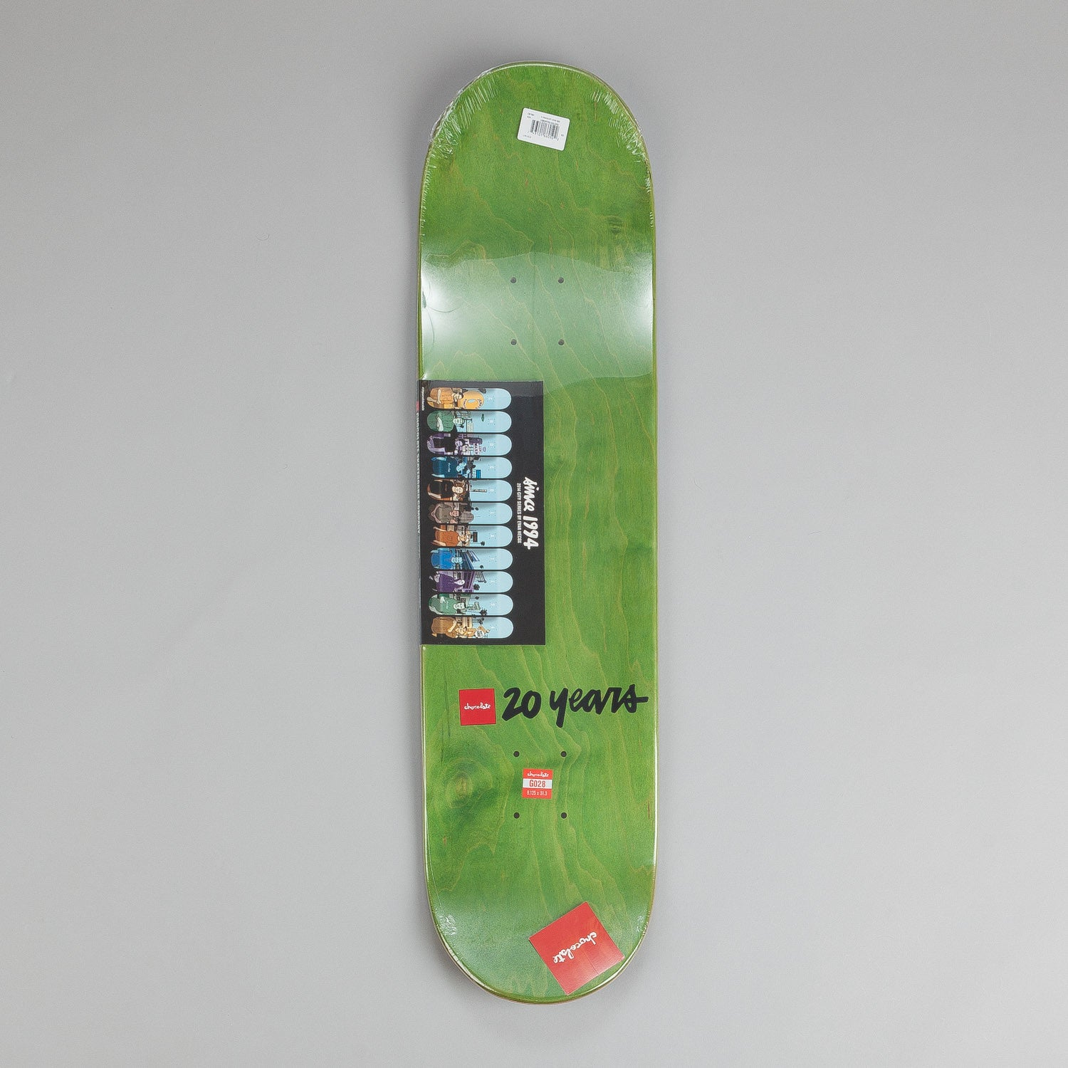 Chocolate City Series Deck Marc Johnson 8.125""