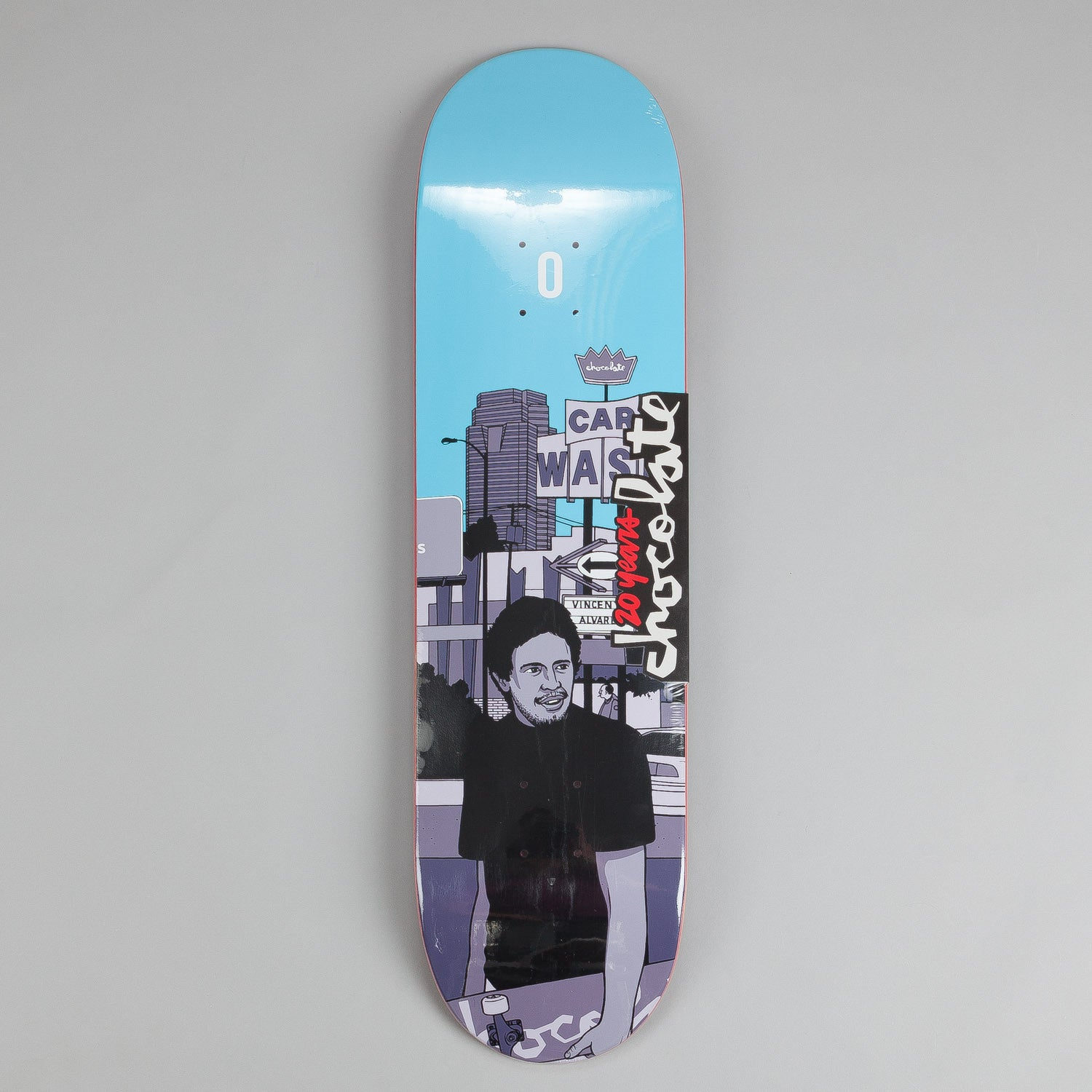 Chocolate City Series Deck Vincent Alvarez 8.25""