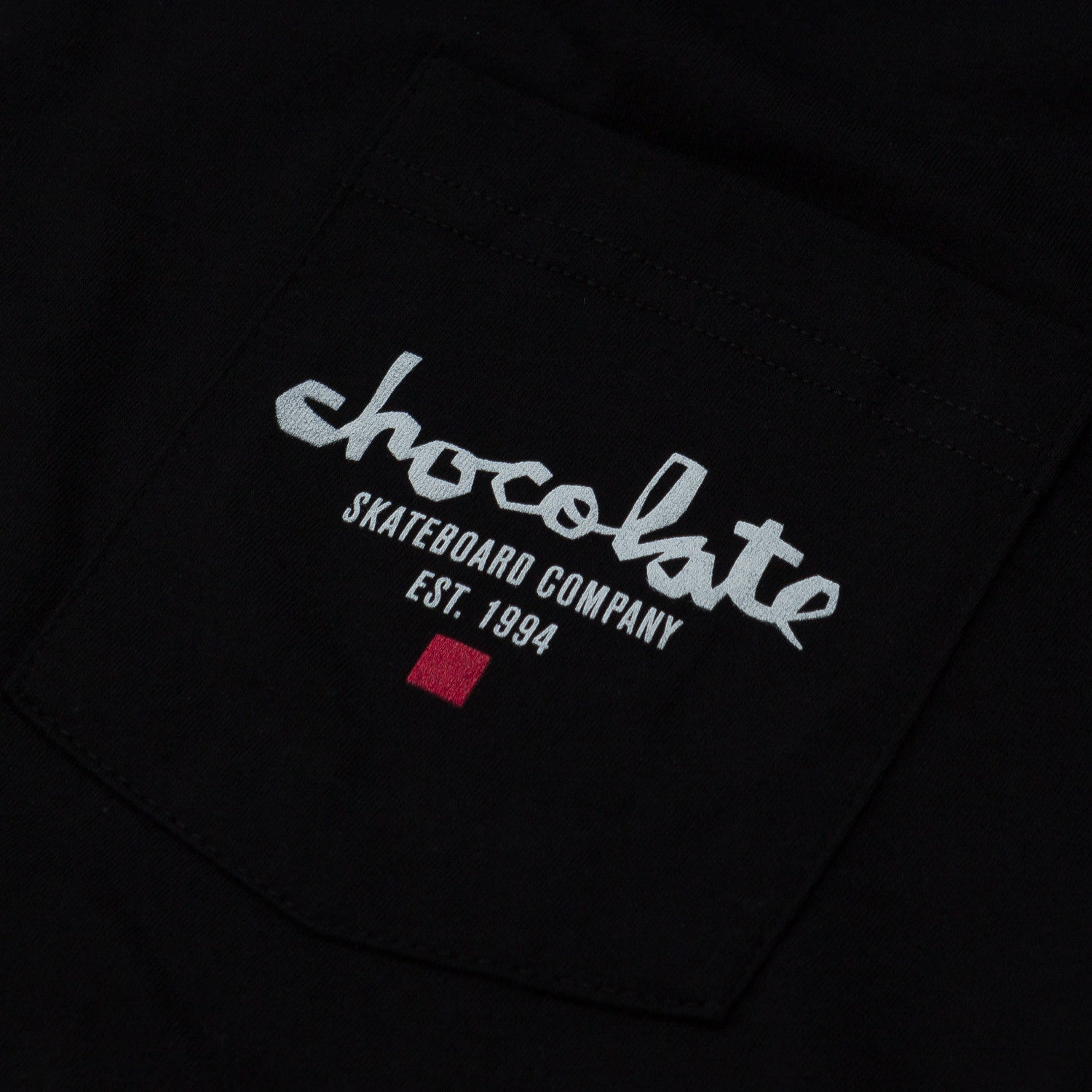 Chocolate Est Chunk Pocket T Shirt Black