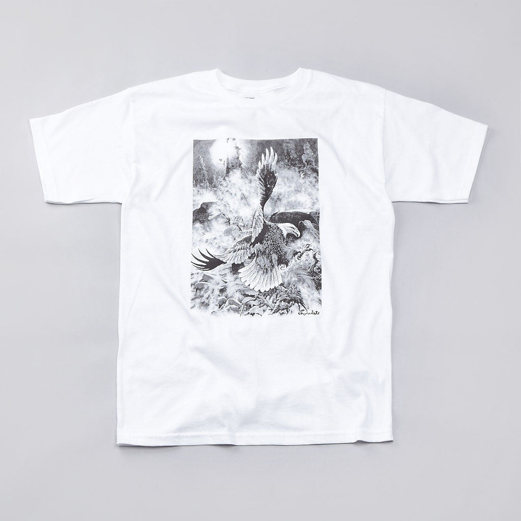 Chocolate Freedom T Shirt White