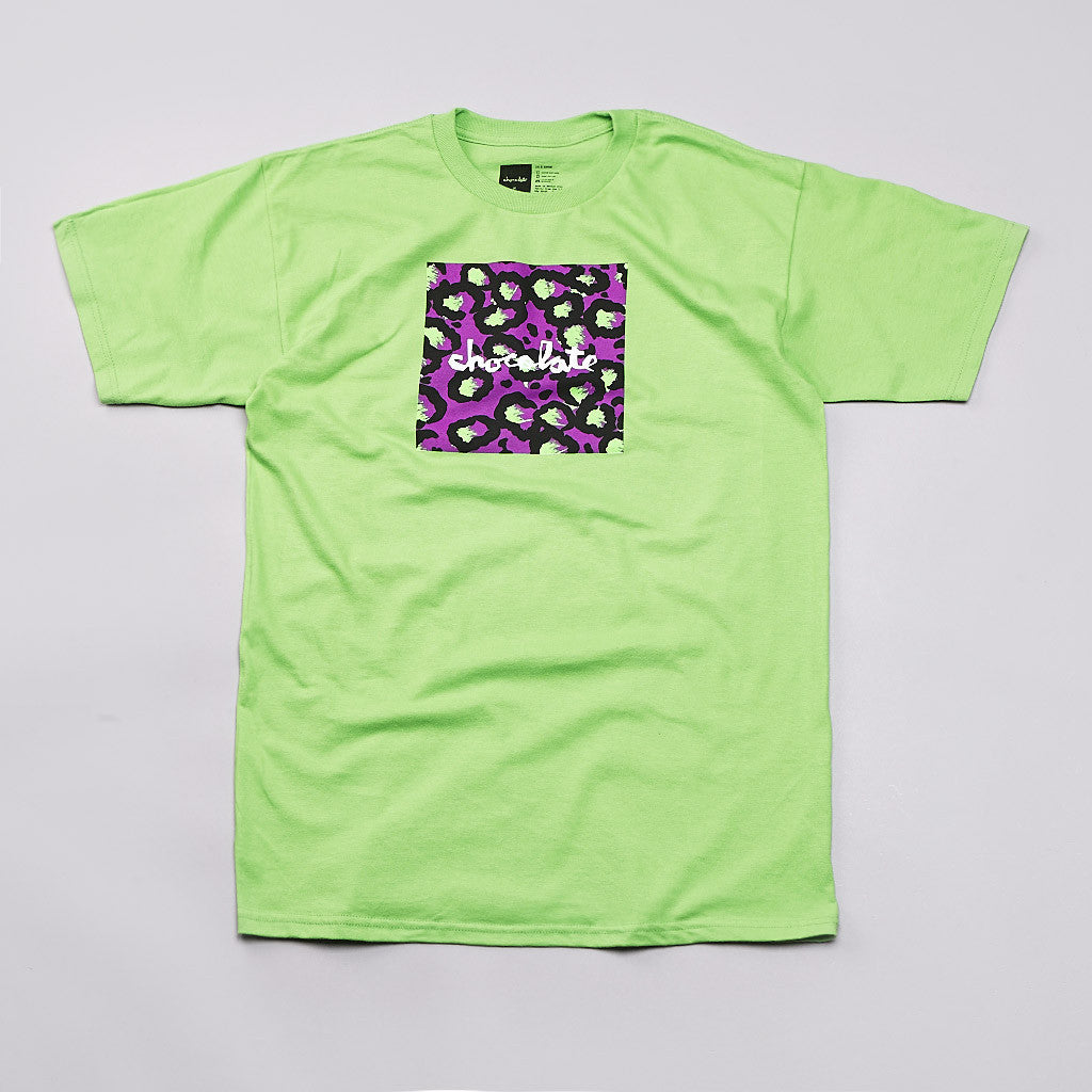 Chocolate Hype Chunk T Shirt Lime
