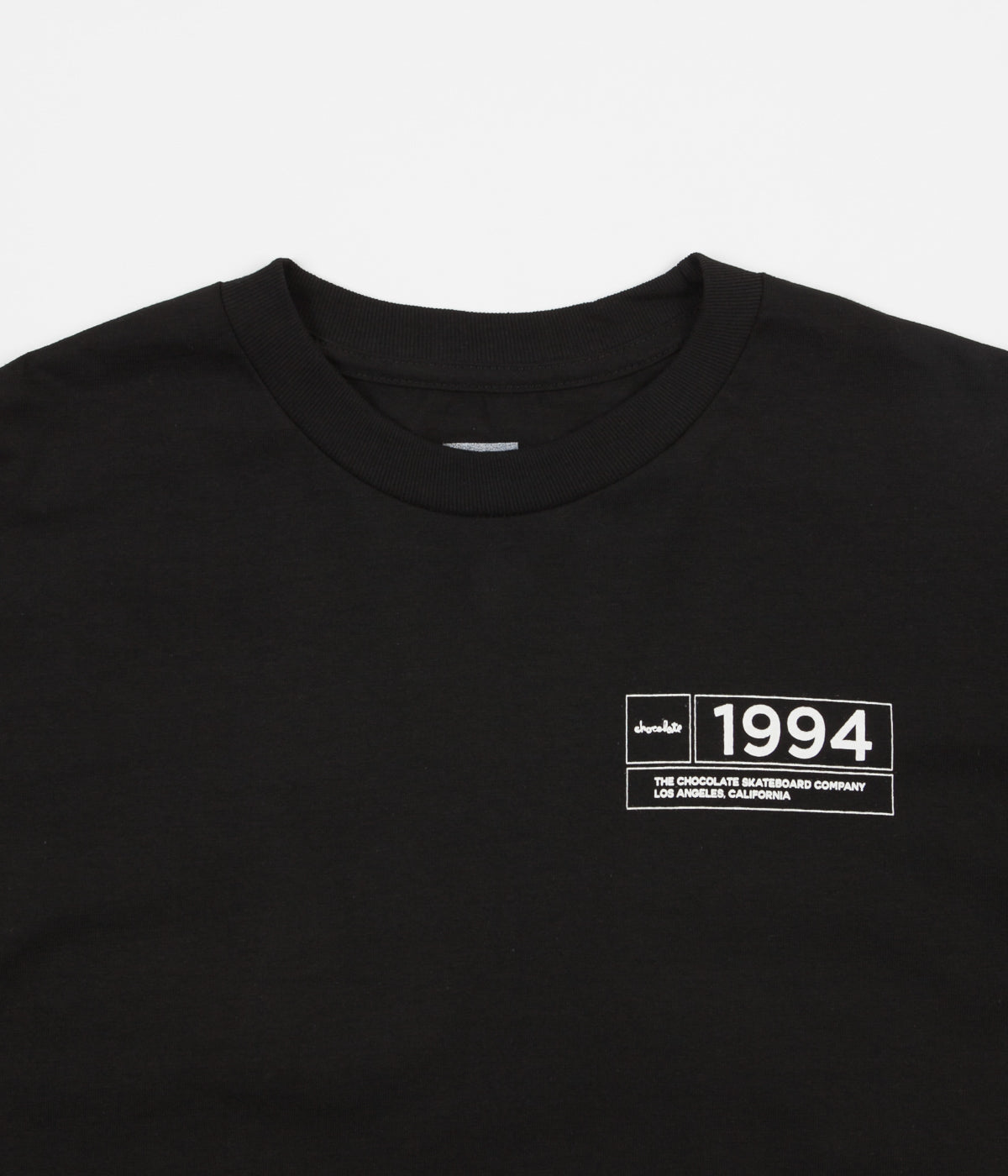 Chocolate Inaugural T-Shirt - Black