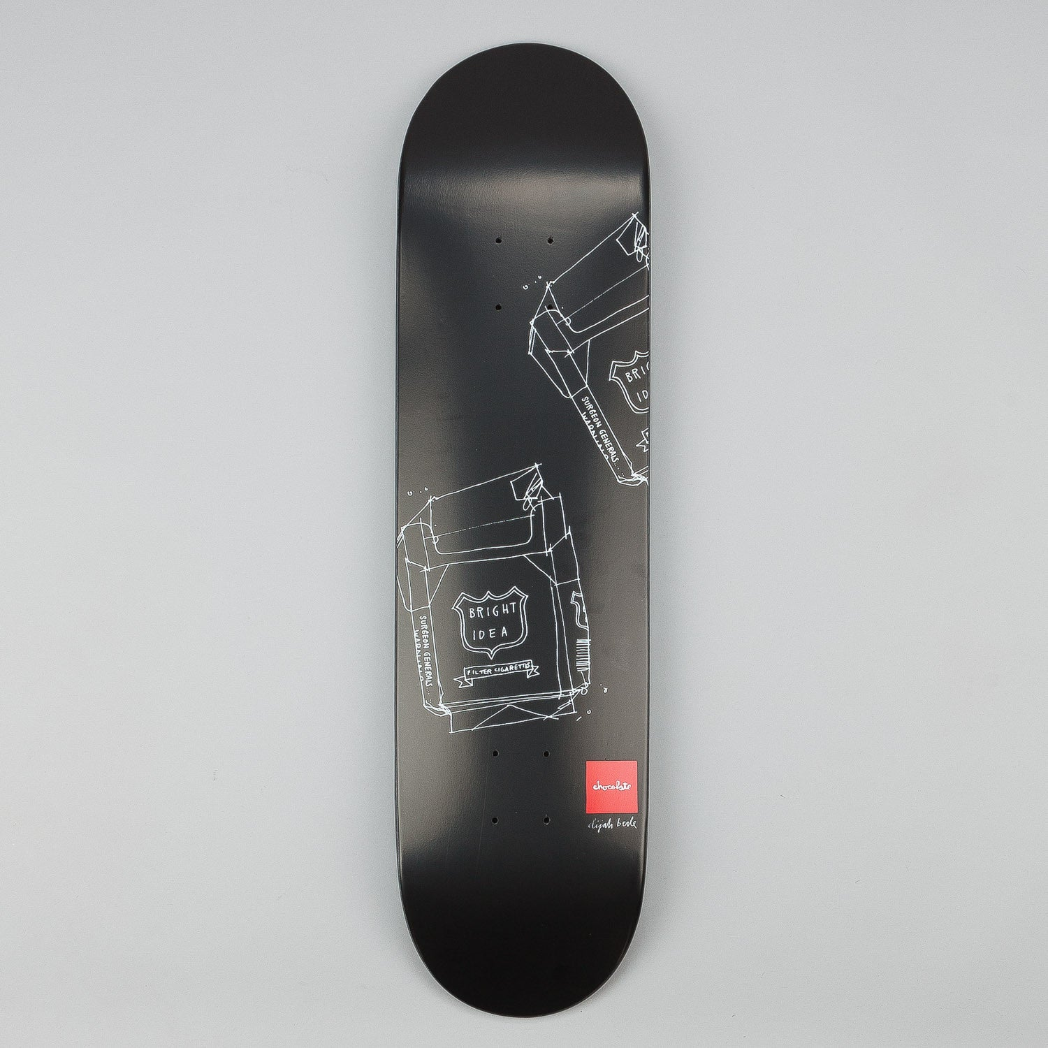 Chocolate Matte Sketch Deck Elijah Berle 8.125