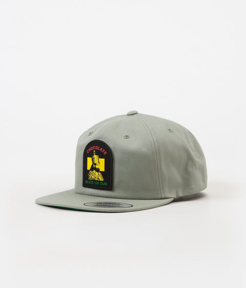 Chocolate Skate Or Dub Snapback Cap - Putty