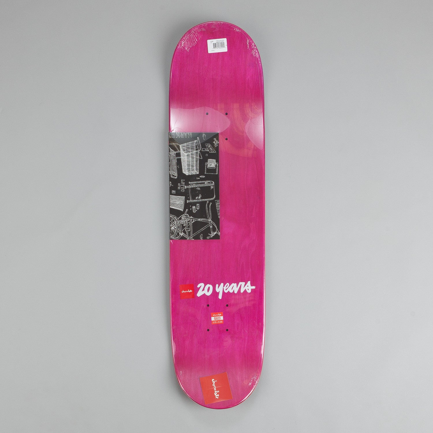 Chocolate Sketch Fade Deck Kenny Anderson 8.125""