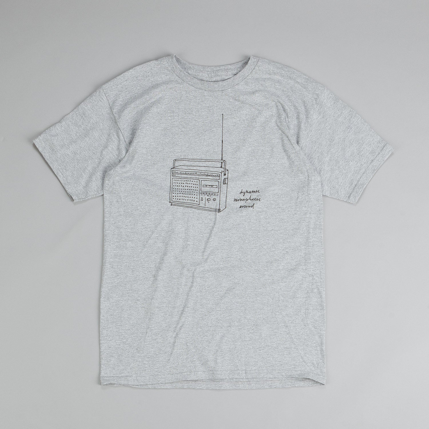 Chocolate Sketch T Shirt Grey