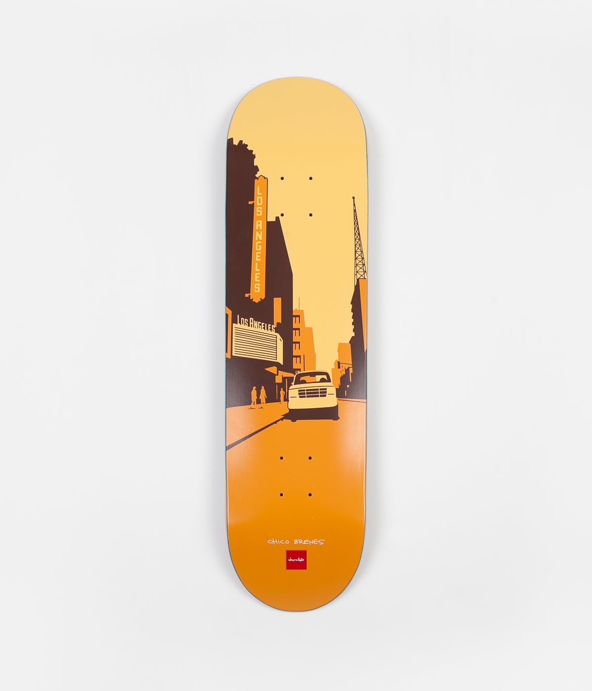 Chocolate The City Chico Brenes Deck - 8.25""