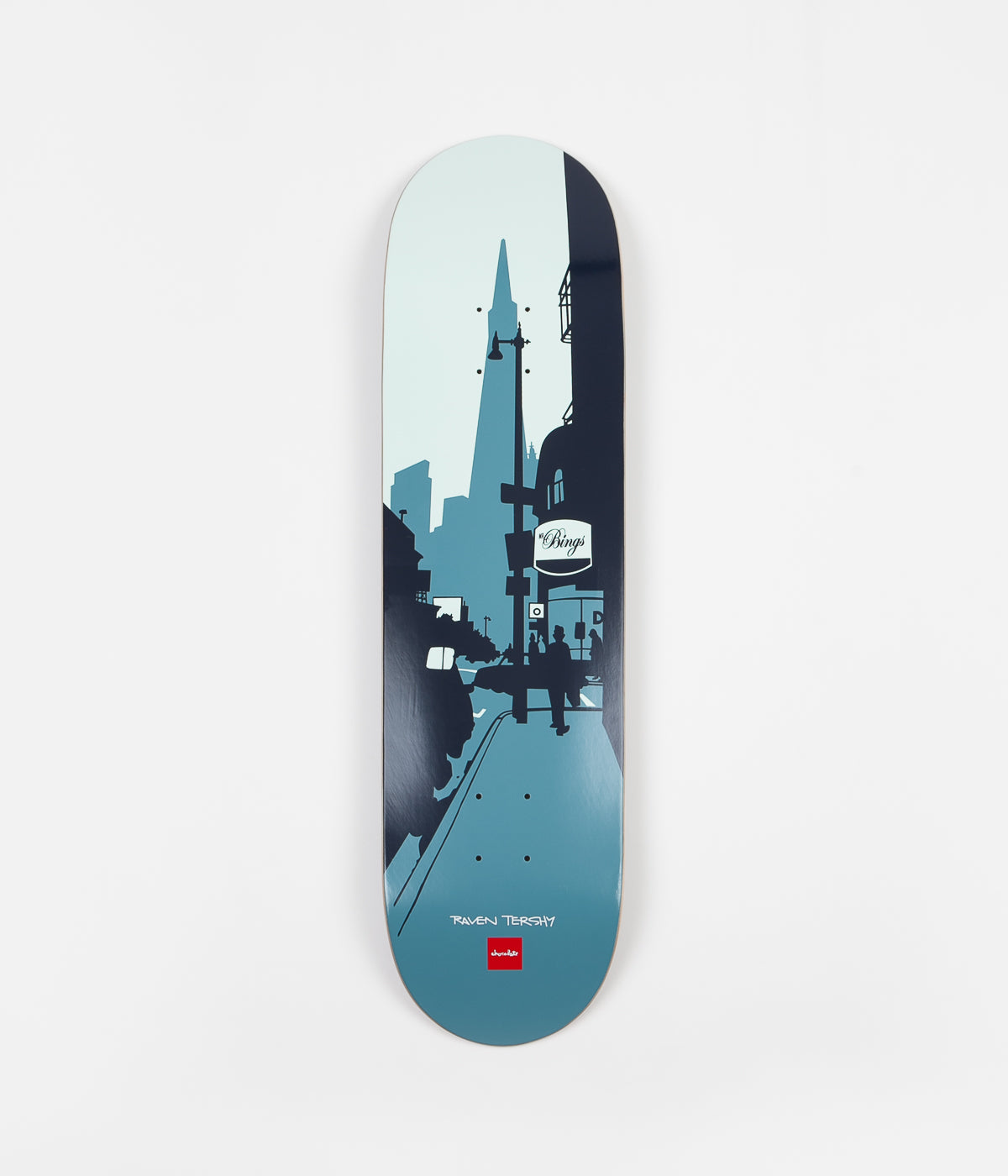 Chocolate The City Raven Tershy Deck - 8.25""