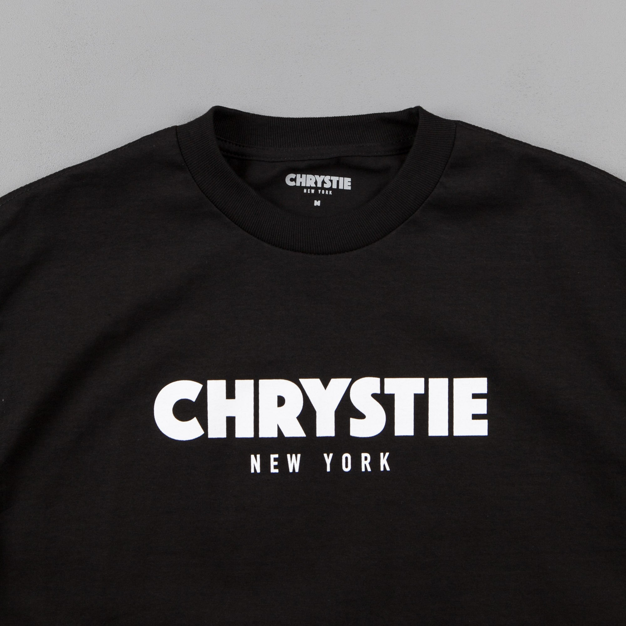 Chrystie NYC OG Logo T-Shirt - Black