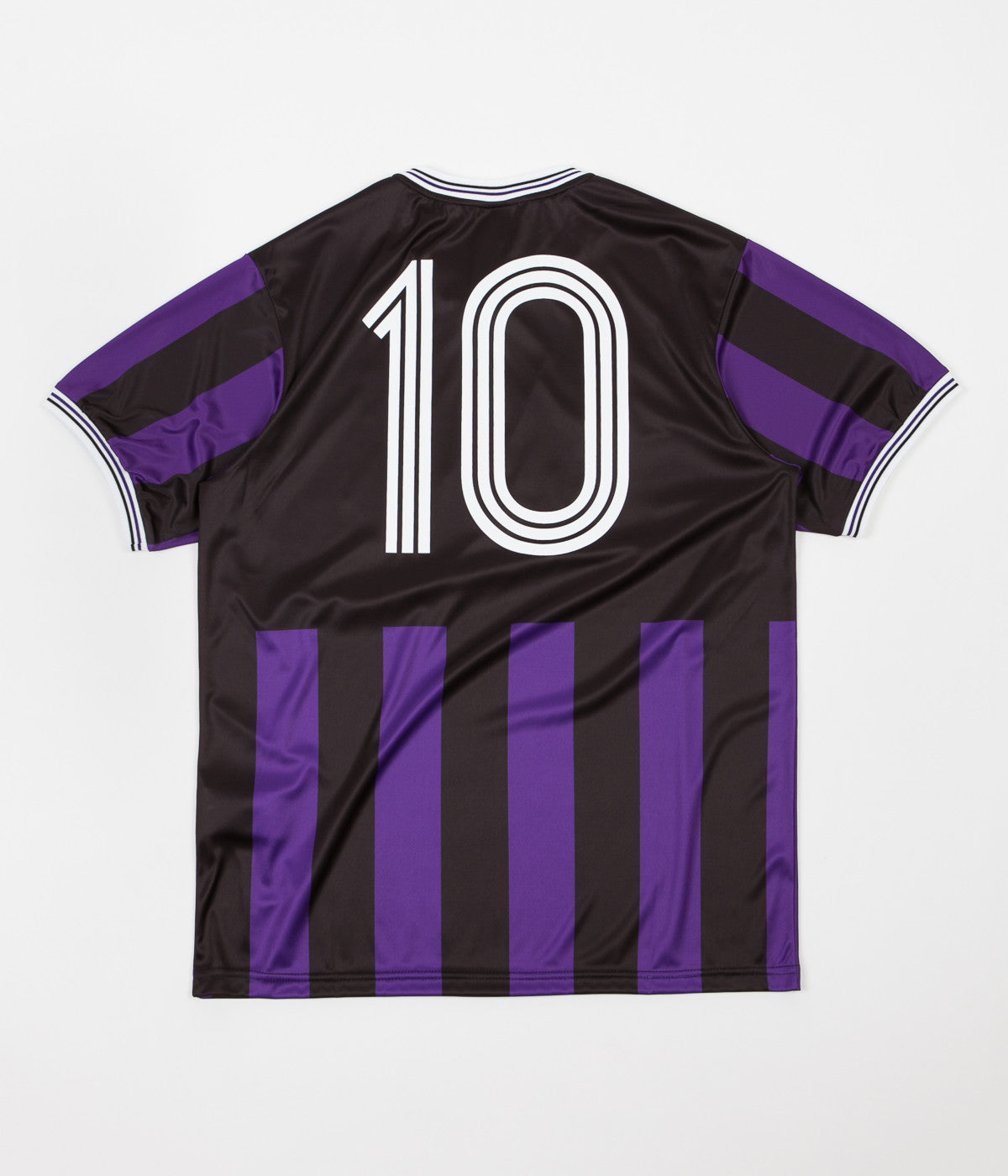 Chrystie NYC Team Chrystie Soccer Jersey - Black / Purple