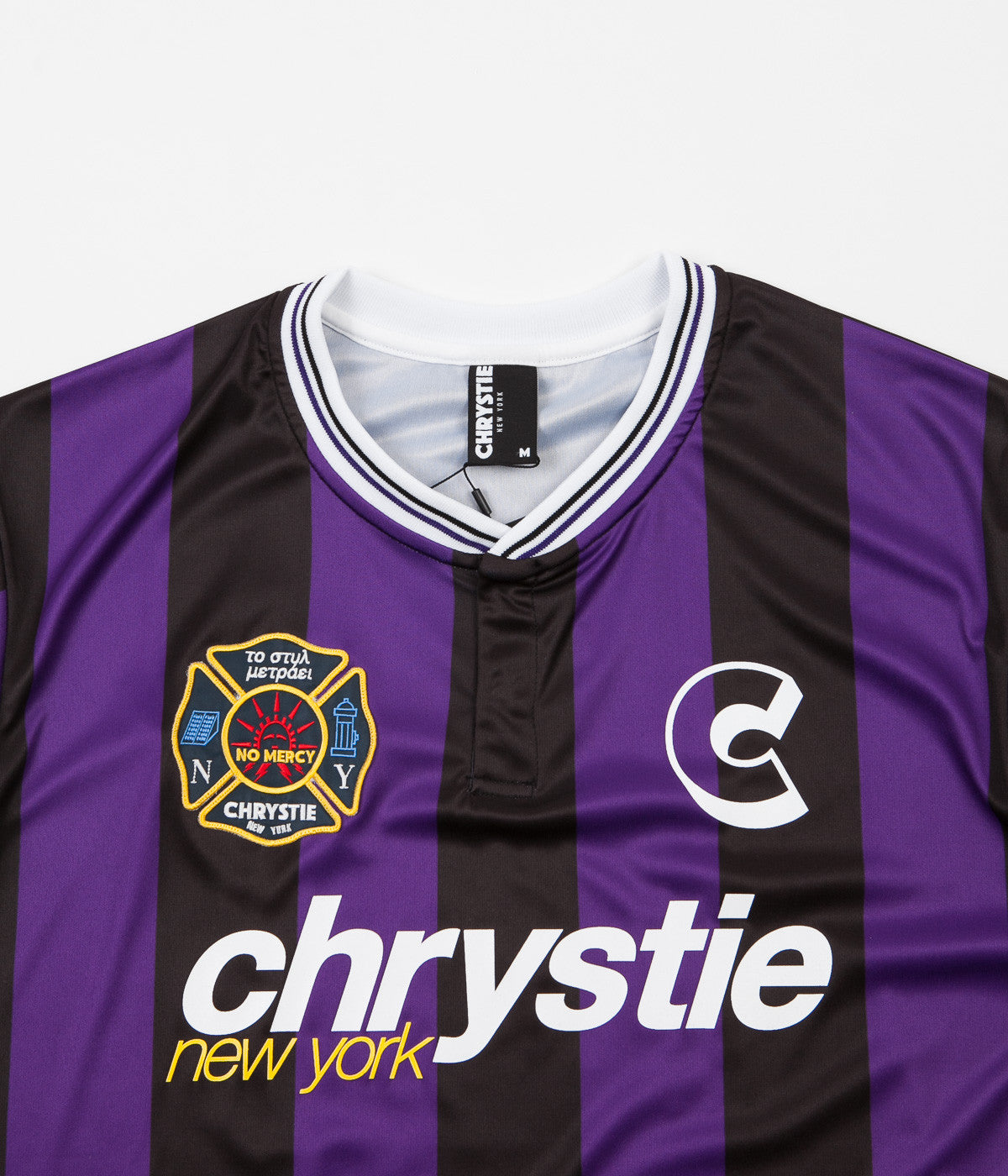 new product 3ae9e 3a168 Chrystie NYC Team Chrystie Soccer Jersey - Black / Purple