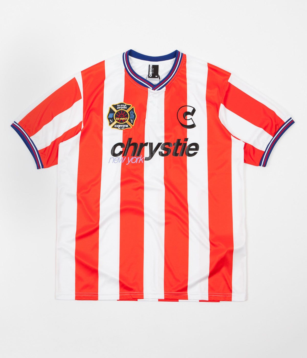 Chrystie NYC Team Chrystie Soccer Jersey - Red / White