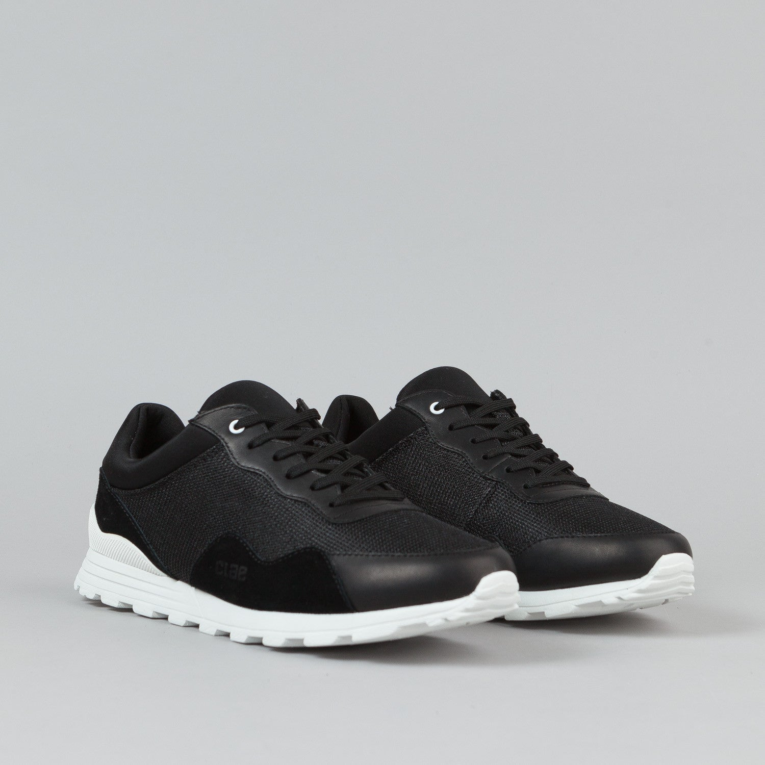 Clae Hoffman Shoes - Black Suede / Mesh
