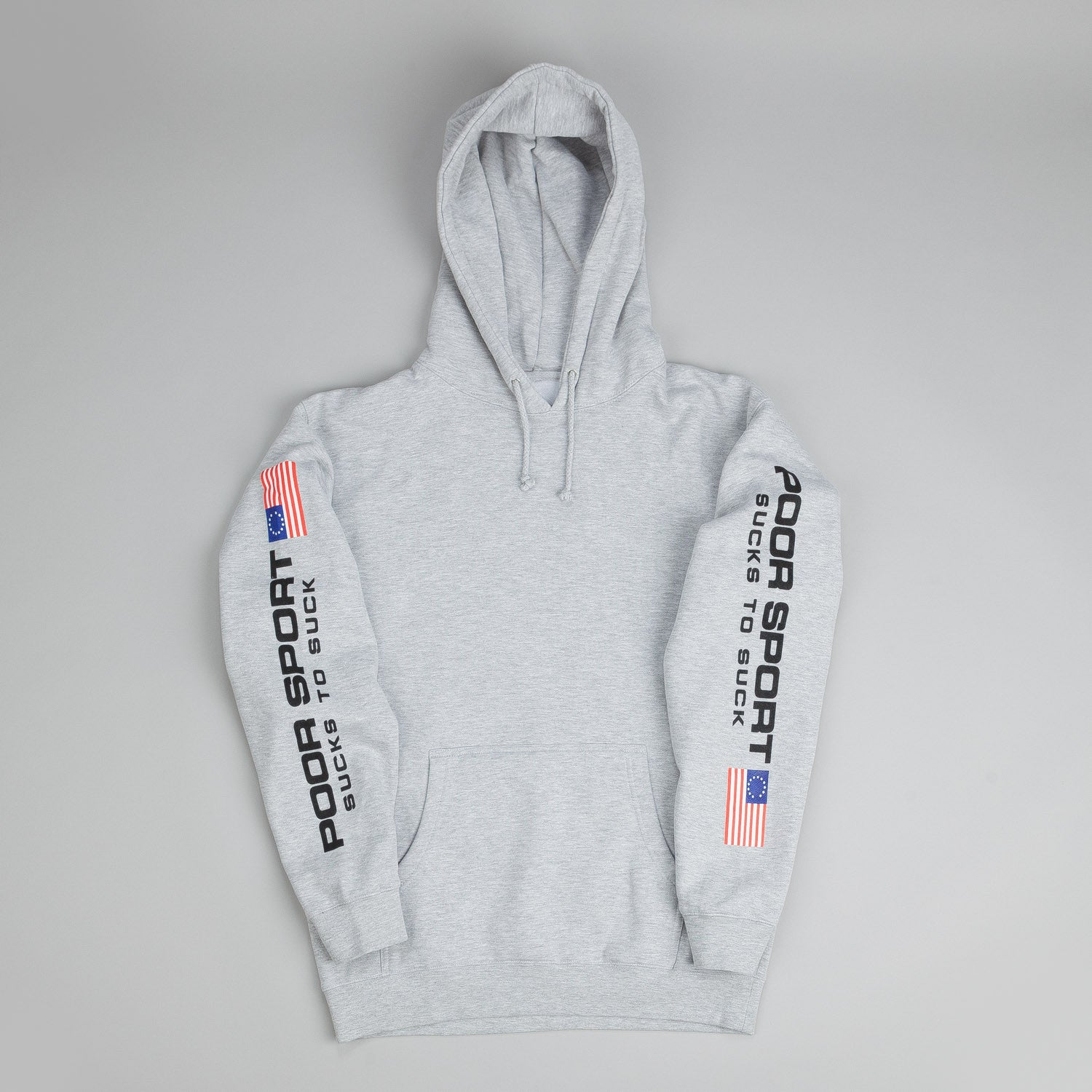 CLSC Poor Sport Hooded Sweatshirt Heather Grey
