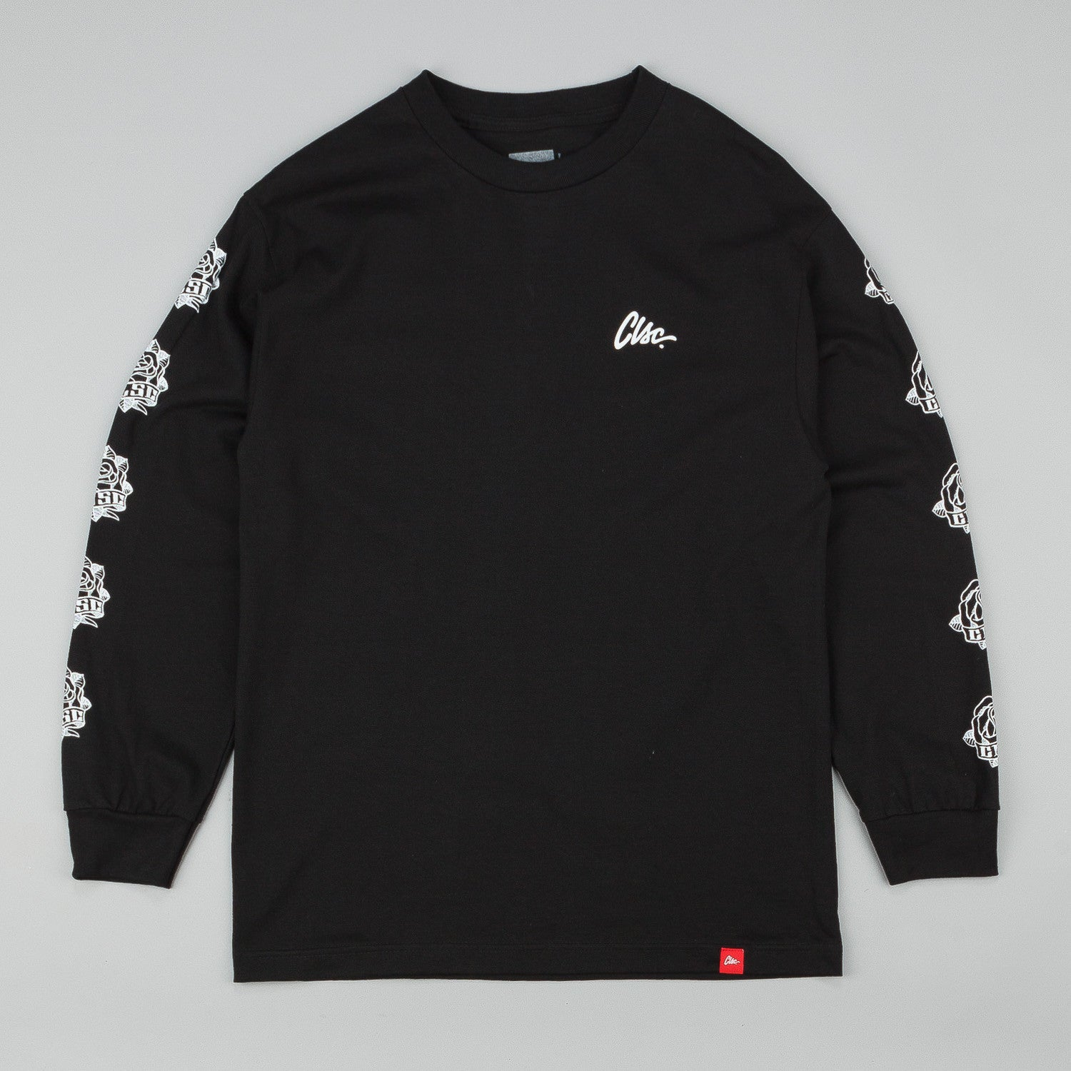 CLSC Rose Long Sleeve T-Shirt - Black