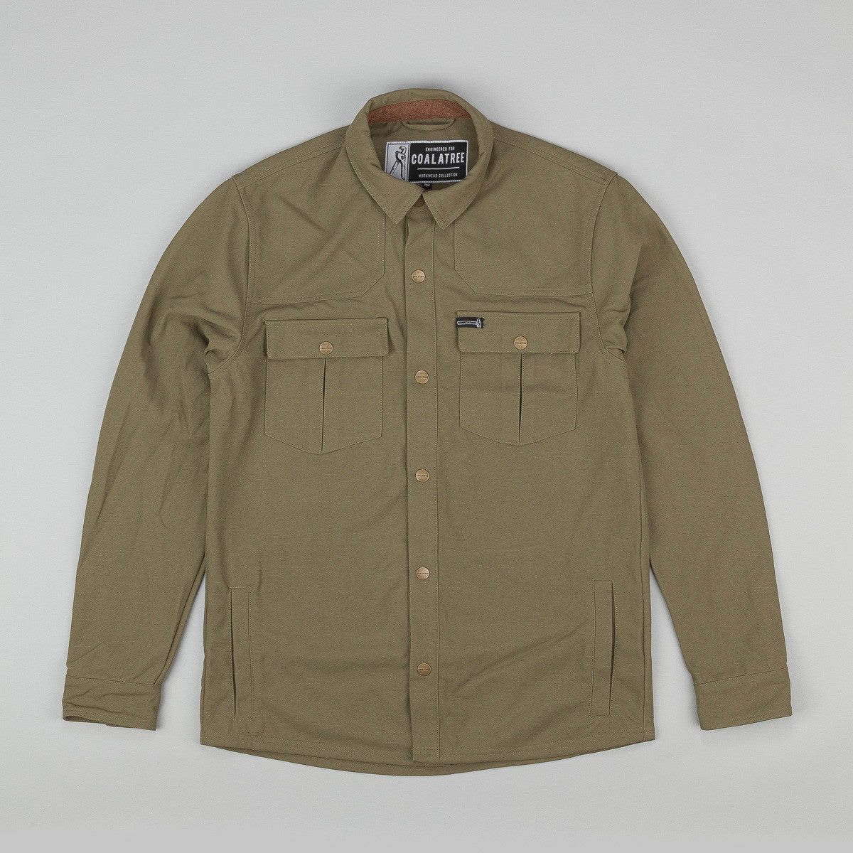 Coala Tree Annex Work Shirt - Green