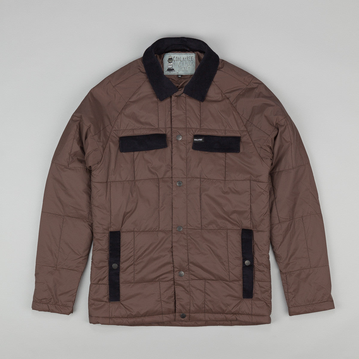 Coalatree River Rock Jacket - Mulch