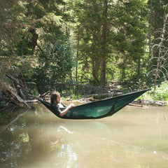 Coalatree The Loafer Hammock Green