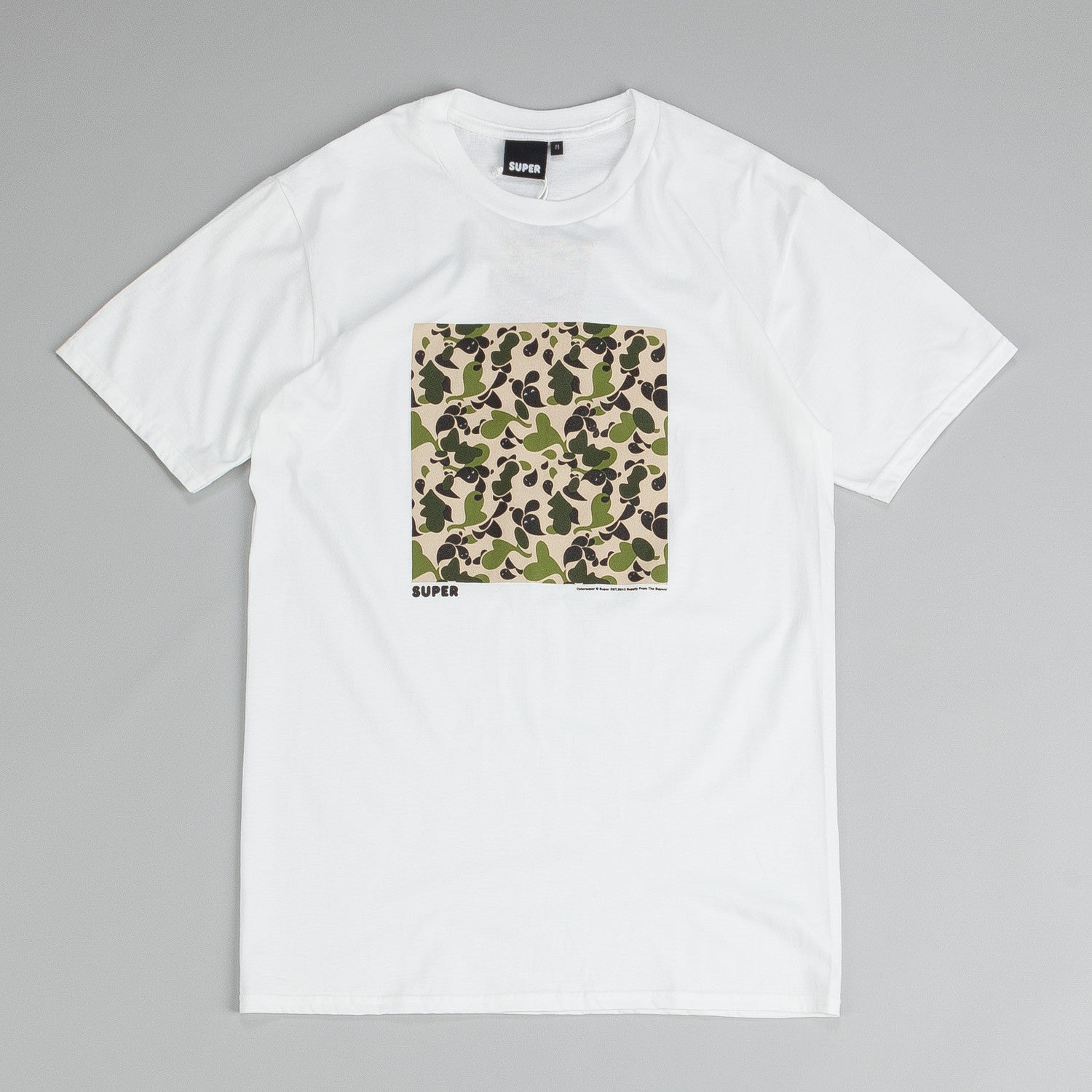 Colorsuper Camo Block T Shirt Green / Desert / Black